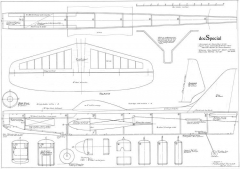 Doc Special model airplane plan