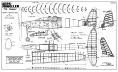 Dolphin 2 model airplane plan