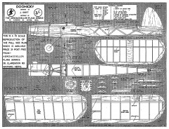 Doohicky Nov 54 model airplane plan