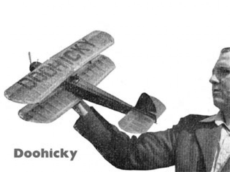 Doohicky model airplane plan