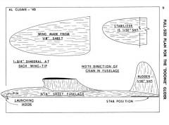 Doonie Glider-MAN-01-44 model airplane plan