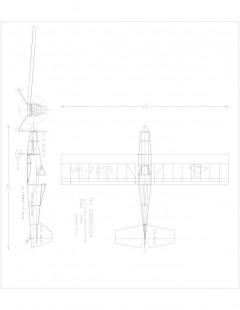 Doonsider 25 Model 1 model airplane plan
