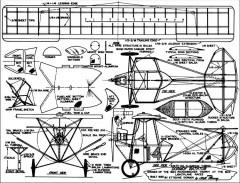 Dormoy Bathtub model airplane plan