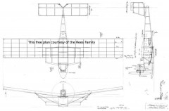 Dornier CS2 Delphin I model airplane plan