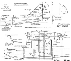 Dornier Do-18K1 model airplane plan