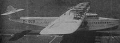 Dornier Do-X model airplane plan