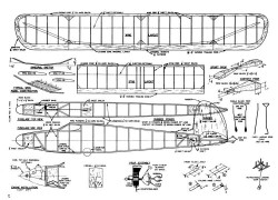 DoubleFeature model airplane plan