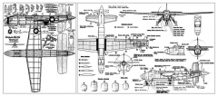 Douglas XB-42 Mixmaster model airplane plan