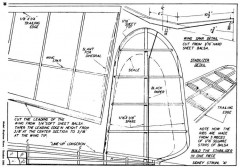 Douglas Attack p4 model airplane plan