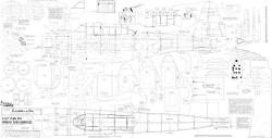 Douglas S.B.D.5 Dauntless model airplane plan