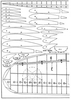 Douglas O-43A p3 model airplane plan