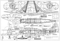 Douglas TBD-1 Devastator model airplane plan