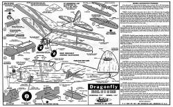 Dragonfly Jetco model airplane plan