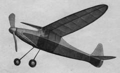 Dragonfly model airplane plan