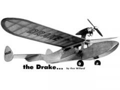 Drake model airplane plan
