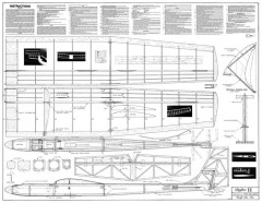 Drifter II model airplane plan