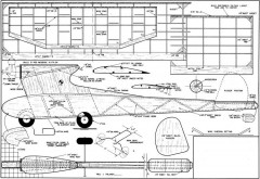 Driftwood model airplane plan
