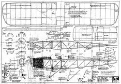 Druine D5 Turbi FSI-D-1 model airplane plan