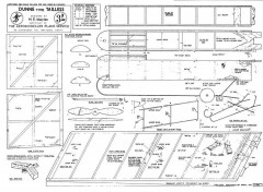 Dunne Tailless model airplane plan