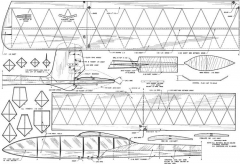 Dunwoodys Nordic model airplane plan