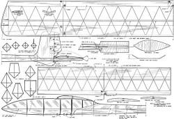Dunwoodys Nordic model airplane plan