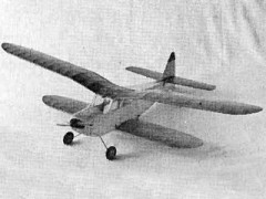 Duranita model airplane plan