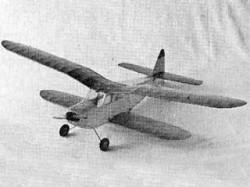 Duranita model airplane plan