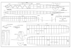 Dvorak model airplane plan