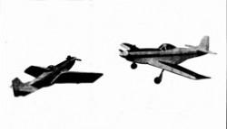 Funscale Mustang 60 model airplane plan