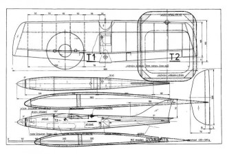 Dyna Mite model airplane plan