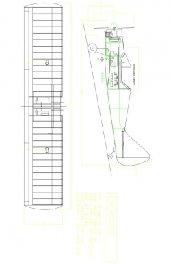 EMERAUDE Model 1 model airplane plan