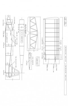 EZ-ED2 Model 1 model airplane plan