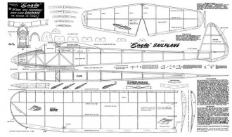 Eagle Sailplane model airplane plan