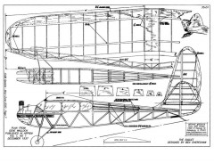Eaglet model airplane plan
