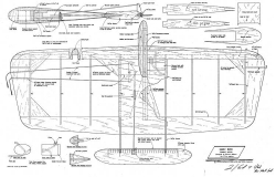 Early Bird model airplane plan