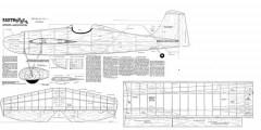 Earthquake model airplane plan