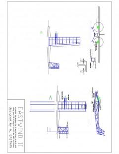 Eastwind II Model 1 model airplane plan