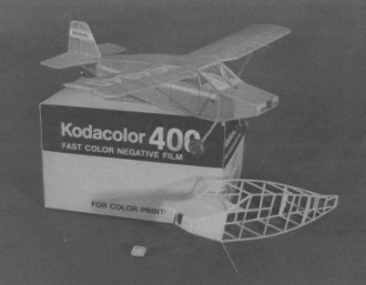 Eaves Cougar model airplane plan