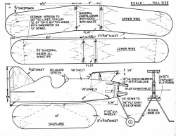 Ebeneezer model airplane plan