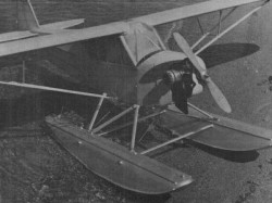 Edo Floats Cub J3 model airplane plan