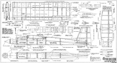 Educator model airplane plan