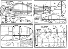 Eightster model airplane plan