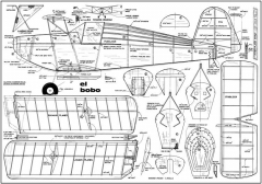 El-Bobo model airplane plan
