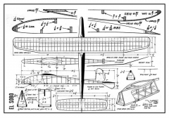 El Sobo model airplane plan