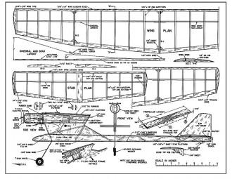 Electro-Mite model airplane plan