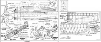 Electron FM-12-50 model airplane plan