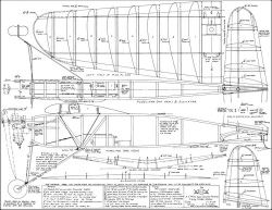 Elf 1935 OT model airplane plan
