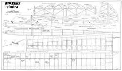 Elmira model airplane plan