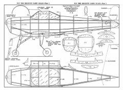 Erco Ercoupe 20in model airplane plan
