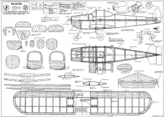 Ercoupe model airplane plan